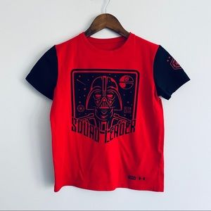 Under Armour x Star Wars Red T-Shirt